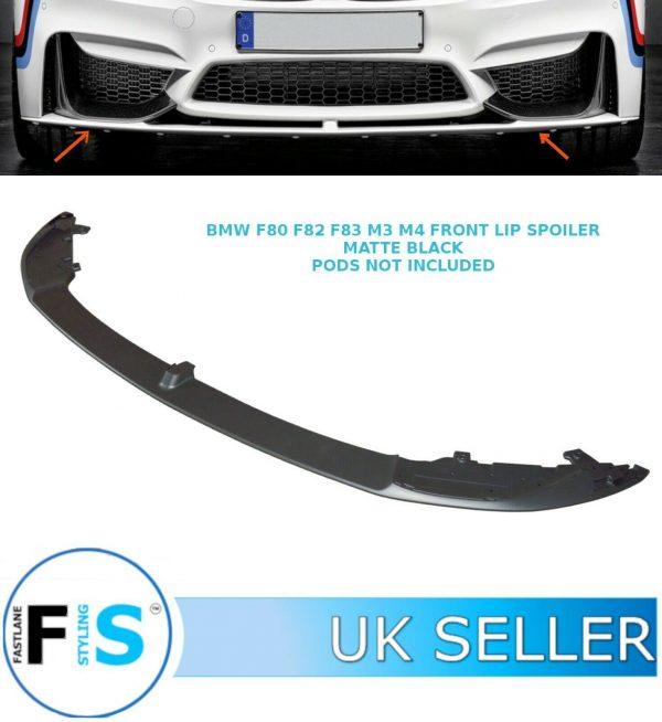 BMW F80 F82 F83 M3 M4 LOWER PERFORMANCE FRONT SPLITTER