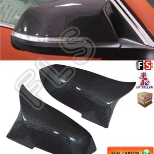 BMW 1 2 3 4 SERIES REPLACEMENT MIRROR COVER 2012+ CARBON FIBRE M3 M4 STYLE