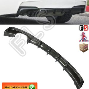 BMW 3 SERIES F30 F31 M SPORT PERFORMANCE REAR BUMPER DIFFUSER TWIN CARBON FIBRE