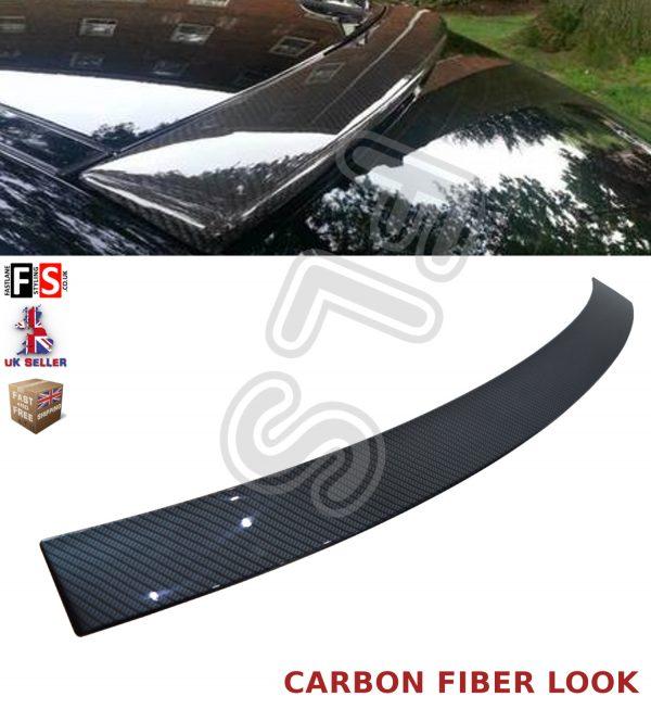 MERCEDES C CLASS W204 ROOF WINDOW SPOILER 08-13 CARBON STYLE LOOK 100% OEM