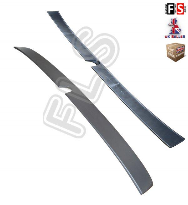 MERCEDES CLS W219 2004-2009 ROOF WINDOW SPOILER MATTE BLACK 100% OEM FIT