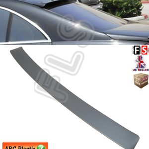 MERCEDES BENZ S CLASS W221 REAR ROOF WINDOW SPOILER AMG STYLE 2007-2010 PRIMED