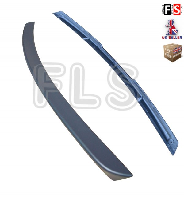 MERCEDES CLK C209 A209 AMG STYLE REAR TRUNK BOOT LIP SPOILER 03-09 MATTE BLACK