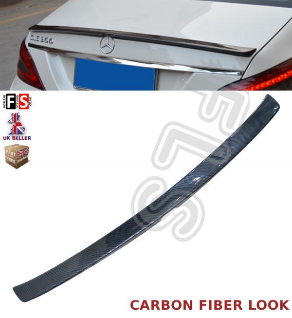 MERCEDES CLS CLASS W218 C218 AMG REAR TRUNK BOOT SPOILER 11+ CARBON FIBRE LOOK