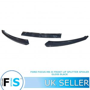 FORD FOCUS RS ST LOOK MK3 FRONT LIP SPLITTER SPOILER