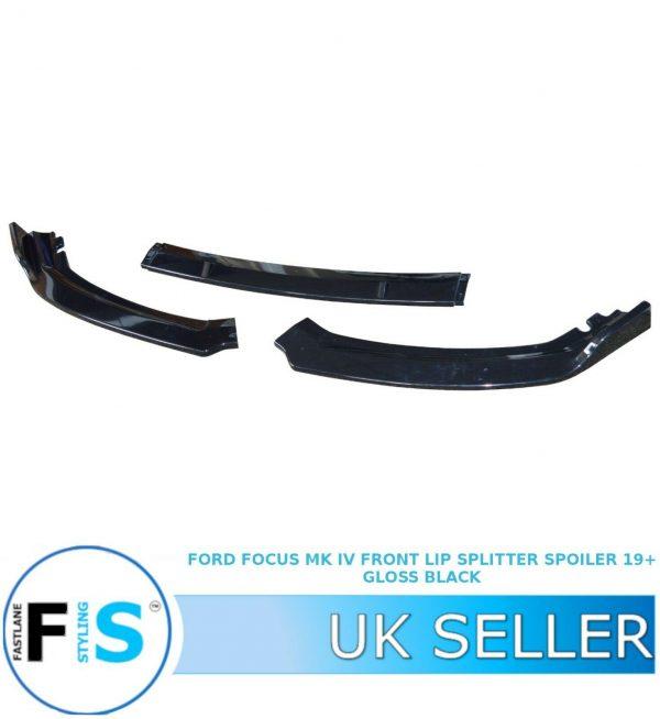 FORD FOCUS MK4 FRONT BUMPER LIP SPLITTER SPOILER