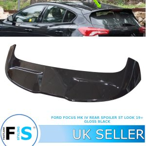 FORD FOCUS ST STYLE LOOK 2019+ MK4 BOOT ROOF SPOILER