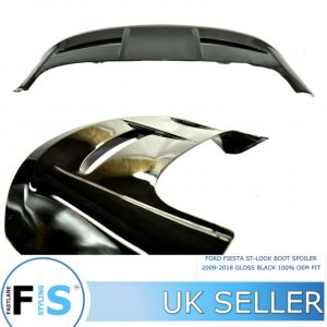 FORD FIESTA ST LOOK BOOT PERFORMANCE SPOILER