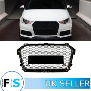 AUDI A1/S1 RS1 STYLE HONEYCOMB MESH FRONT GRILLE