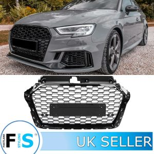 AUDI A3/S3 RS3 STYLE HONEYCOMB MESH FRONT GRILLE
