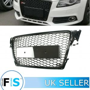 AUDI A4/S4 RS4 STYLE HONEYCOMB MESH FRONT GRILLE