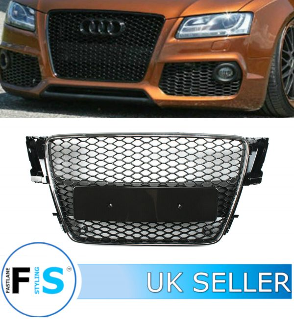 AUDI A5/S5 RS5 STYLE HONEYCOMB MESH FRONT GRILLE