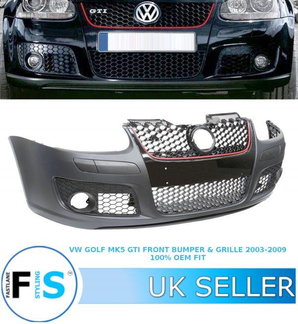 VW GOLF MK5 GTI TDI TSI GTI FRONT BUMPER GRILLE