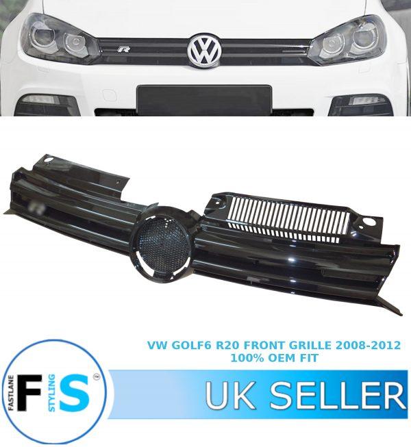 VW GOLF 6 MK6 R20 GTI GTD FRONT GRILLE