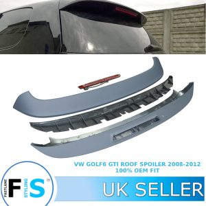 VW GOLF MK 6 GTI REAR ROOF SPOILER