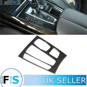 BMW X5 F15 CARBON FIBRE CENTRE CONSOLE SHIFT PANEL COVER