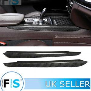 BMW X5 F15 CARBON FIBRE CENTRE SIDE SHIFTER PANEL COVER