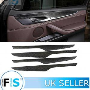 BMW X5 F15 CARBON FIBRE DOOR SILL PANEL COVER