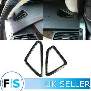 BMW X5 F15 CARBON FIBRE DASHBOARD SIDE VENT PANEL COVER
