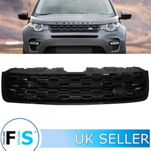 LAND ROVER DISCOVERY SPORT FRONT GRILLE 2020 LOOK GLOSS BLACK
