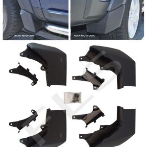 LAND ROVER DISCOVERY 3 FRONT & REAR MUDFLAP
