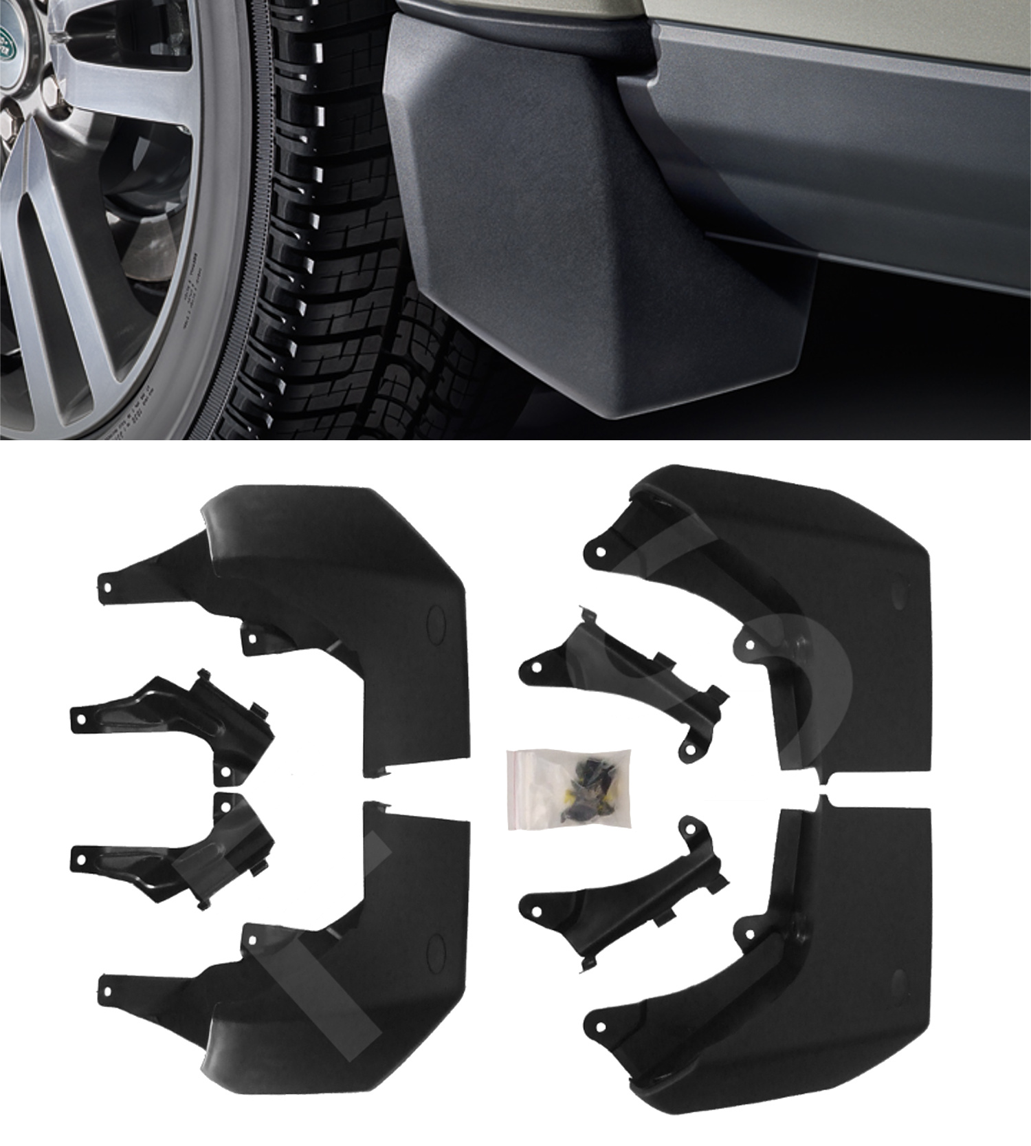 Land Rover Discovery Sport Rear Mud Flap Set Discovery Sport Mud Flap Kit