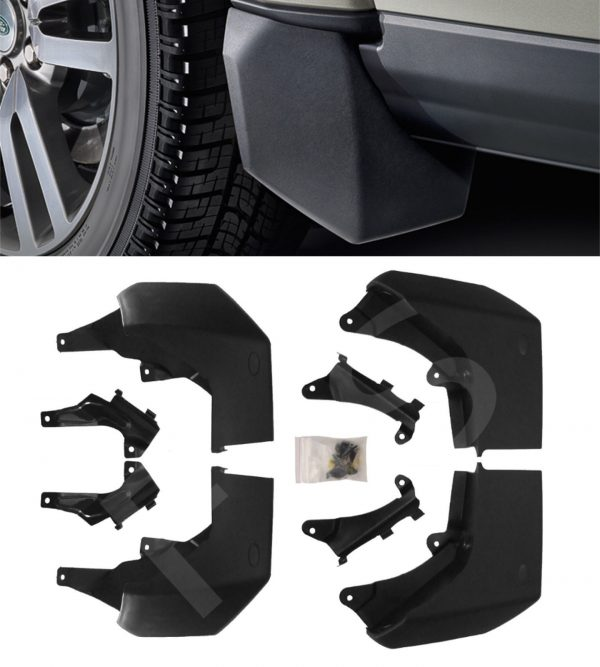 LAND ROVER DISCOVERY 4 FRONT & REAR MUDFLAP