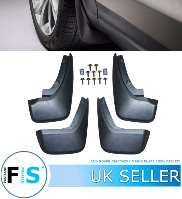 LAND ROVER DISCOVERY 5 MUD FLAPS SPLASH GUARDS