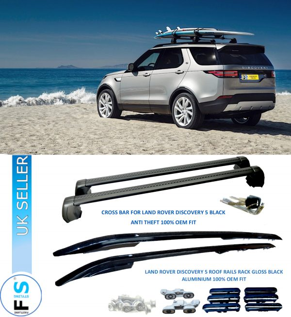 LAND ROVER DISCOVERY 5 ROOF RAILS RACK CROSS BARS