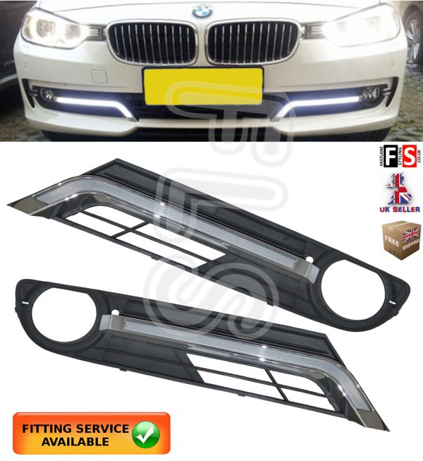 BMW 3 SERIES F30 LED DRL DAY TIME RUNNING LIGHT LAMPS 2013-2015 DRL LIGHTS KITS