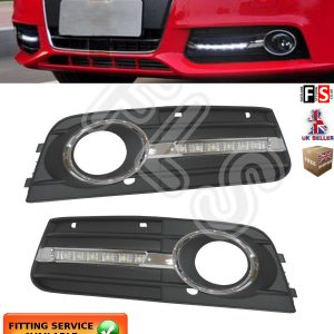 AUDI A4 A4L B8 LED DRL DAY TIME RUNNING LIGHT LAMPS 2009-2012 DRL LIGHTS KITS