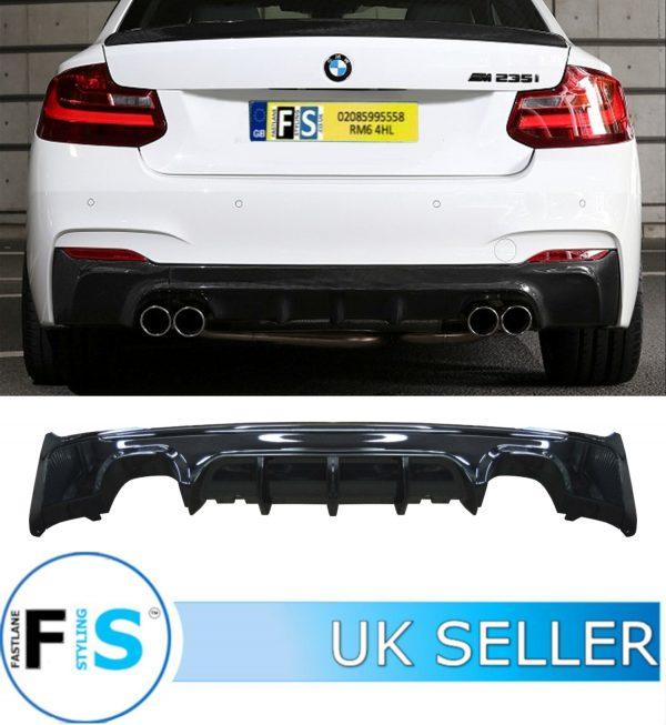 BMW 2 SERIES F22 F23 M SPORT REAR DIFFUSER