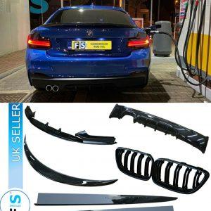 BMW 2 SERIES F22 FULL M PERFORMANCE BODY KIT