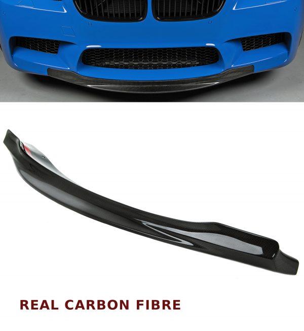 BMW F10 M5 CARBON FIBRE FRONT LIP CHIN SPLITTER R STYLE