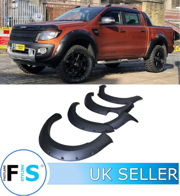 FORD RANGER RAPTOR T6 9″ WIDE BODY WHEEL ARCH