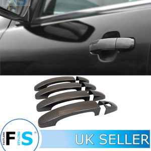 FORD RANGER CARBON LOOK ABS DOOR HANDLE COVERS