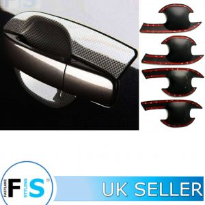FORD RANGER CARBON LOOK DOOR HANDLE INSERT TRIMS