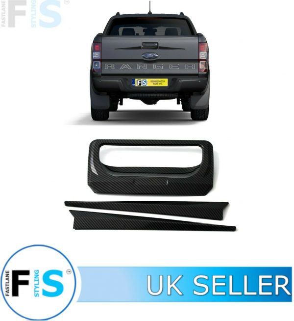 FORD RANGER RAPTOR TAILGATE BOOT DOOR HANDLE COVER