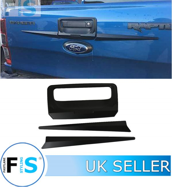 FORD RANGER 15+ TAILGATE REAR BOOT DOOR HANDLE COVER