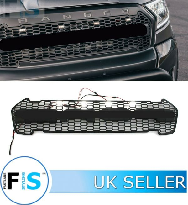 RANGER RAPTOR T6 T8 FRONT GRILLE HONEYCOMB MESH STYLE