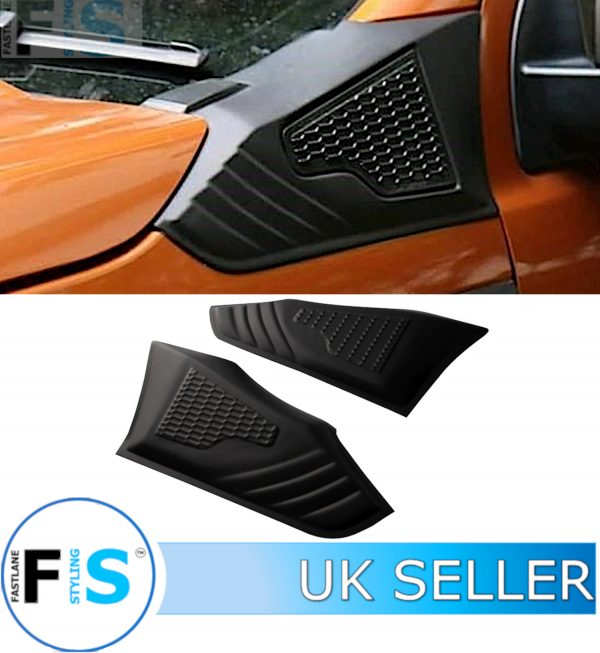 FORD RANGER 18+ T6 T7 T8 SIDE VENT COVER PROTECTOR