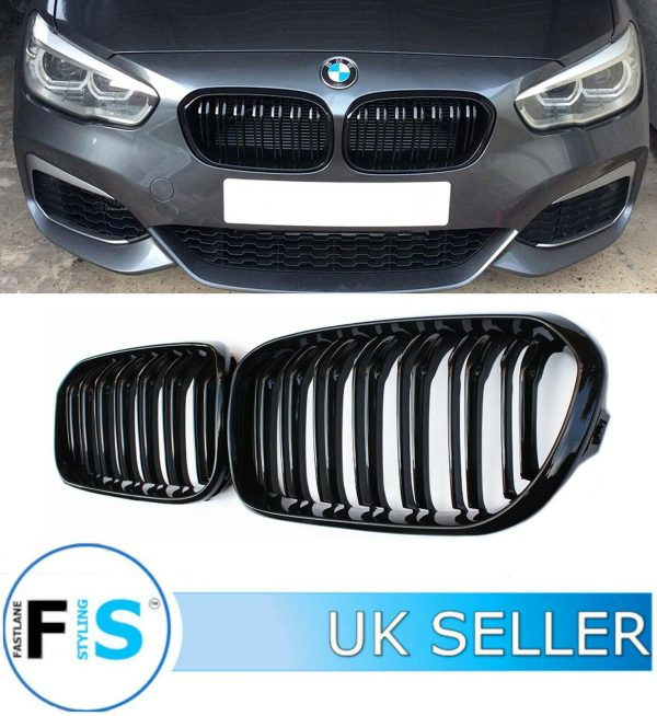 BMW 1 SERIES F20 FRONT GRILLES DOUBLE SLAT