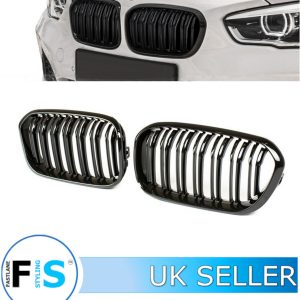 BMW 1 SERIES F20 FACELIFT FRONT KIDNEY GRILLES