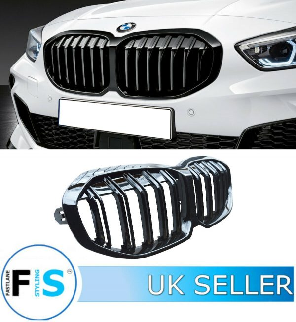 BMW 1 SERIES F40 DOUBLE SLAT M SPORT FRONT GRILLE