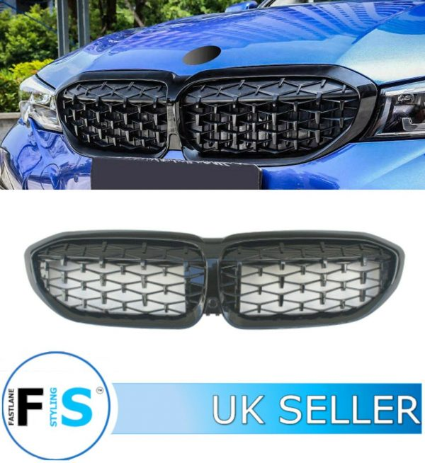 BMW 3 SERIES G20 G21 FRONT GRILLE DIAMOND STYLE