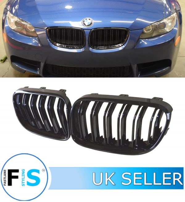 BMW 3 SERIES E92 E93 FRONT GRILLE DOUBLE SLAT