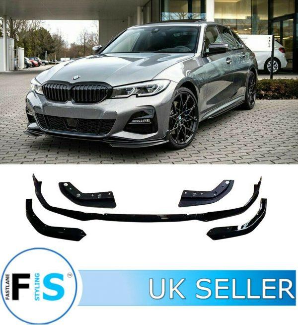 BMW 3 SERIES G20 G21 M SPORT FRONT SPLITTER LIP SPOILER