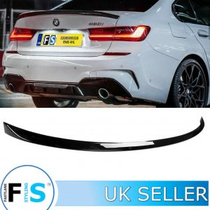 BMW 3 SERIES G20 G21 M SPORT BOOT TRUNK SPOILER