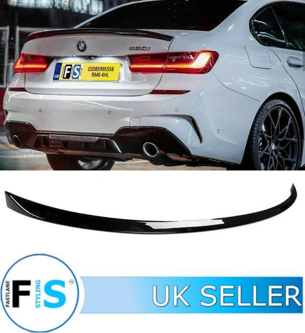 BMW 3 SERIES G20 G21 M SPORT BOOT TRUNK SPOILER
