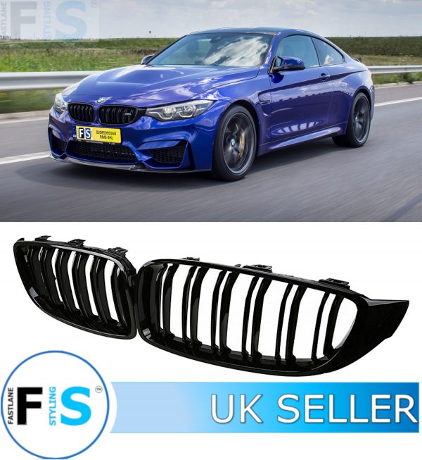 BMW 4 SERIES F32 F33 F36 (F82 M4) STYLE FRONT GRILLE